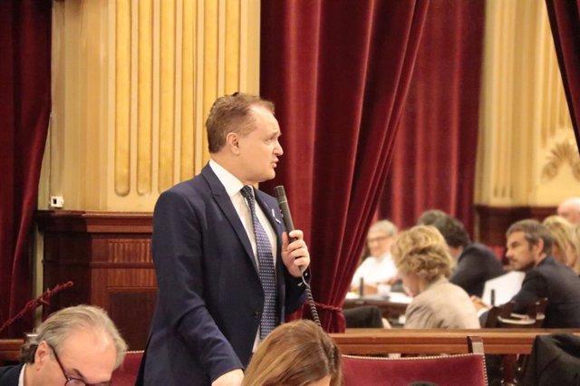 El diputado por Ibiza del Grupo Parlamentario Ciudadanos, Maxo Benalal.