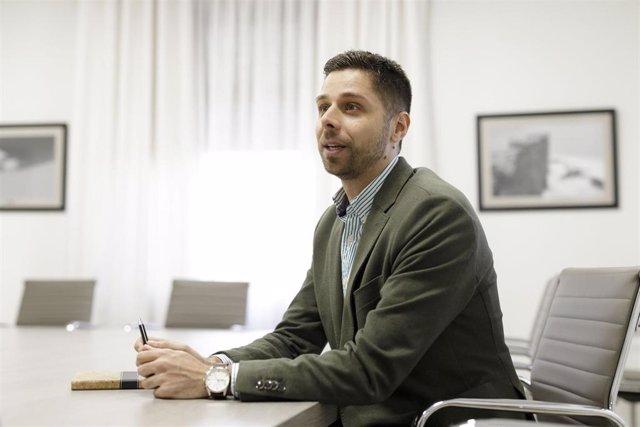 Javier Rodríguez, consejero de Transición Ecológica del Cabildo de Tenerife