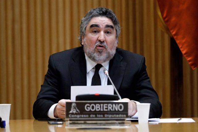 """Fútbol.- Rodríguez Uribes: """"La vuelta de LaLiga es uno de los barómetros de la n"""