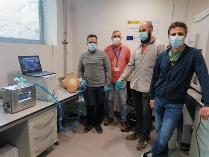 H. de Simulación Clínica de la UCV participa en las pruebas de un nuevo respirador de fabricación española