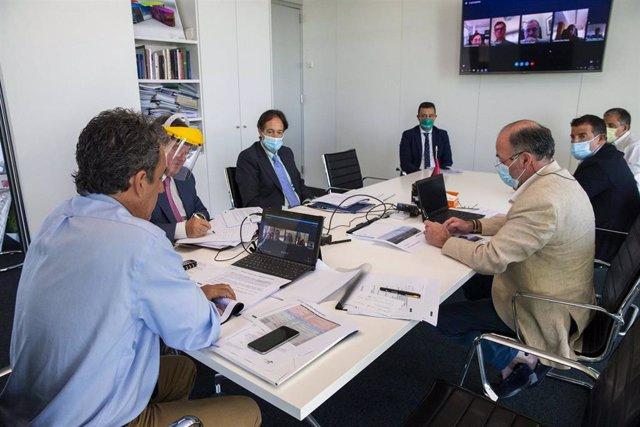 Reunión del Consejo de Administración de SODERCAN