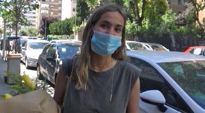 """María Pombo, tras su diagnóstico de mielitis: """"Estoy positiva"""""""