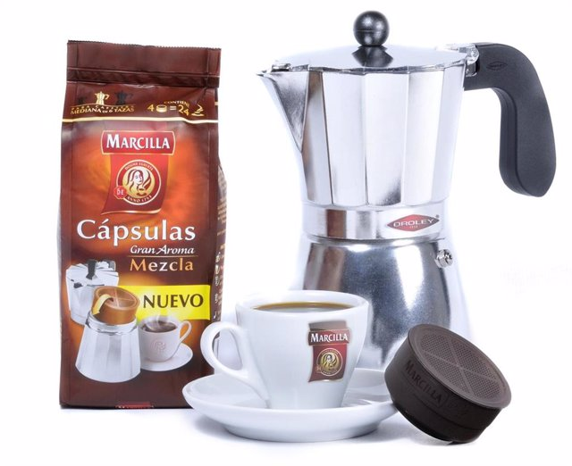 Cápsulas de café Marcilla