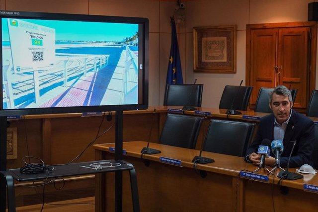 Presentación de Social Beach, una aplicación para información en tiempo real sobre el aforo de las playas de Benalmádena