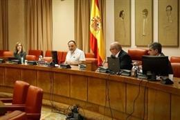 El secretario general de CC.OO. Industria, Agustín Martín, interviene en la Comisión de Industria del Congreso