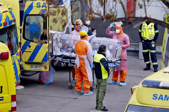 Coronavirus.- Chile bate un día más su récord de fallecidos y supera ya los 90.0