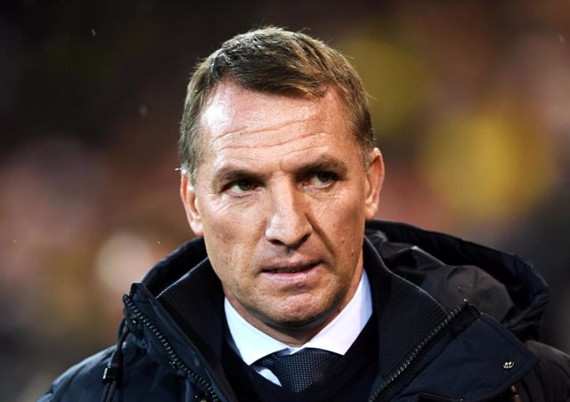 28 February 2020, England, Norwich: Leicester City manager Brendan Rodgers pictured during the English Premier League soccer match between Norwich City FC and Leicester City FC at Carrow Road. Photo: Joe Giddens/PA Wire/dpa