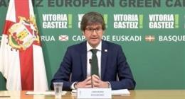 El alcalde de Vitoria, Gorka Urtaran