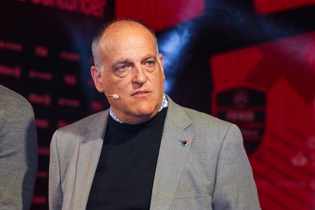 El president de LaLiga, Javier Tebas.