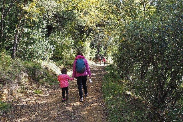 Los parques naturales de Álava se preparan para la desescalada con medidas para evitar el contagio a la población rural