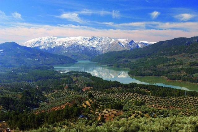 Vista del Parque Natural de Cazorla, Segura y Las Villas
