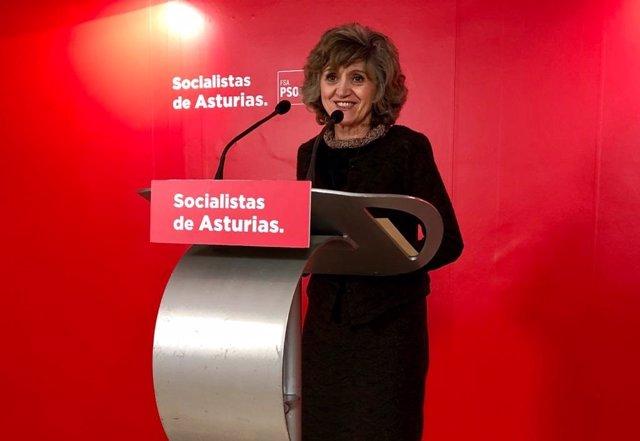 La diputada del PSOE por Asturias y exministra de Sanidad, Maria Luisa Carcedo