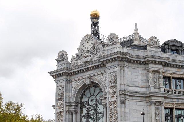 Foto de archivo del Banco de España, a 6 de abril de 2020