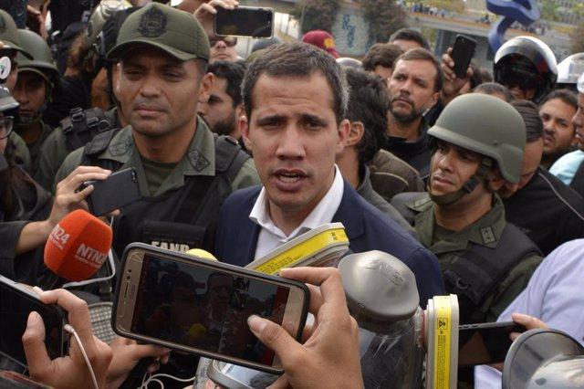 """Venezuela.- EEUU reafirma su """"compromiso"""" con la Asamblea Nacional de Guaidó y p"""
