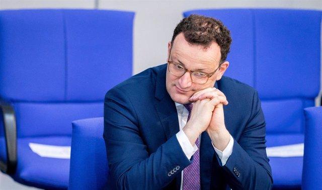 El ministro de Salud de Alemania, Jens Spahn
