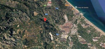 Rescatados tres senderistas que se perdieron en la Serra Falconera, en Gandia