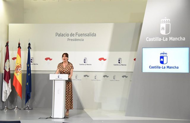 Portavoz del Gobierno regional, Blanca Fernández,