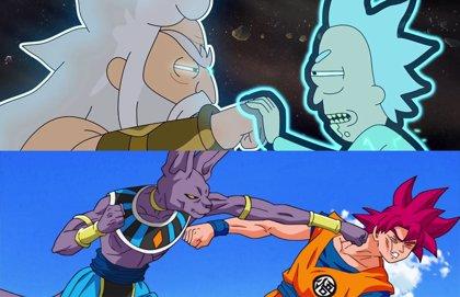 Genial homenaje de Rick y Morty a Dragon Ball Z