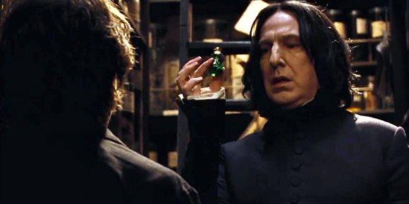 1. Harry Potter: J.K. Rowling revela el origen secreto de Severus Snape