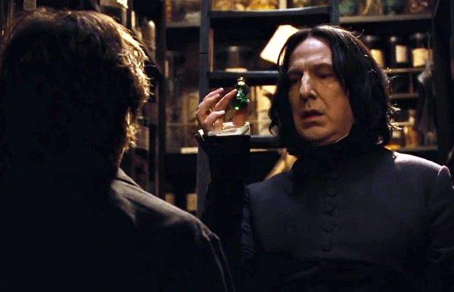 Severus Snape en la saga Harry Potter