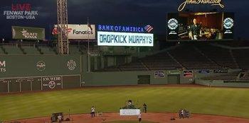 Foto: VÍDEO: Concierto de Dropkick Murphys a puerta cerrada en un estadio de Boston (con Bruce Springsteen como invitado)