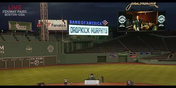 3. VÍDEO: Concierto de Dropkick Murphys a puerta cerrada en un estadio de Boston (con Bruce Springsteen como invitado)