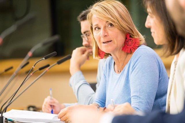L'eurodiputada del PP, Rosa Estaràs.