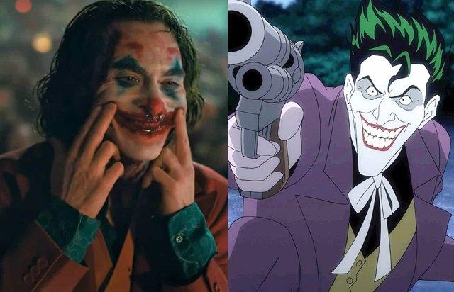 Joker de Joaquin Phoenix y Joker en los cines
