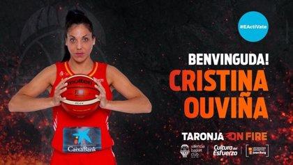 La internacional española Cristina Ouviña ficha por Valencia Basket