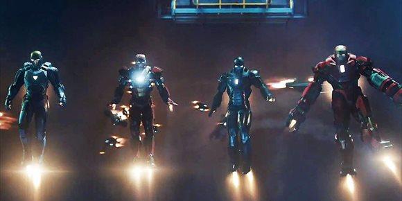 1. Los secretos de la armadura más rotunda de Iron Man, la Mark 40