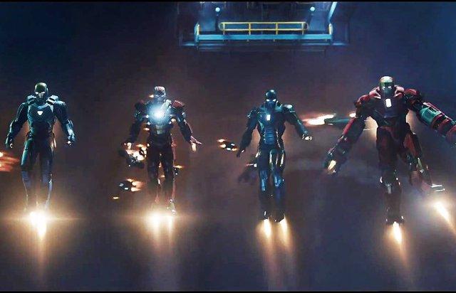 Armaduras de Iron Man