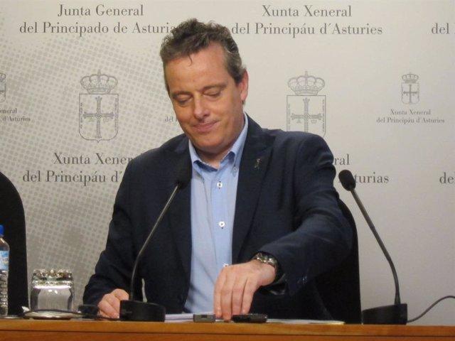 El presidente de la Junta General, Marcelino Marcos Linde.