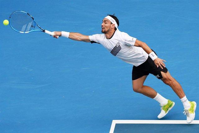 Tenis.- Fognini pasa por quirófano por una larga lesión en los tobillos