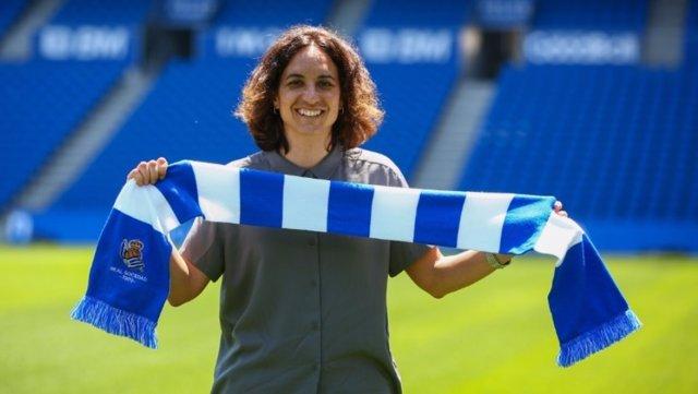 Natalia Arroyo, nueva entrenadora de la Real Sociedad