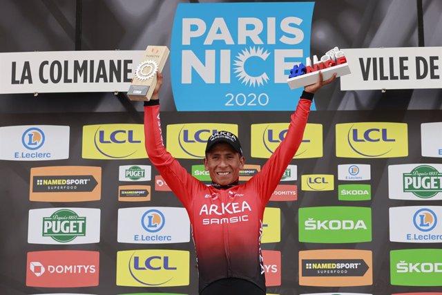 Ciclismo.- Nairo Quintana correrá el Tour de l'Ain y el Dauphiné antes de afront