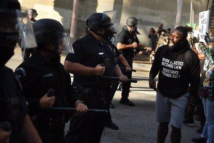 Cientos de detenidos por los disturbios por la muerte de George Floyd en grandes ciudades de EEUU