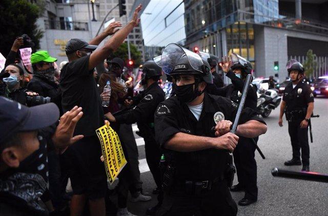 Protestas en Estados Unidos contra la muerte de George Floyd