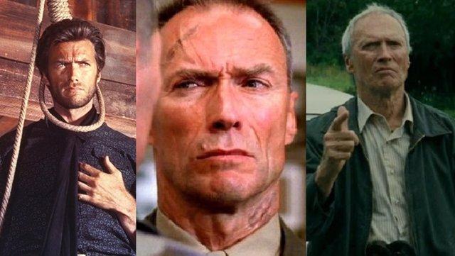 Los personajes de Clint Eastwood
