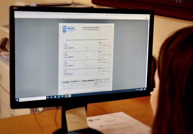 Trámite con el Ayuntamiento de Huelva de forma telemática