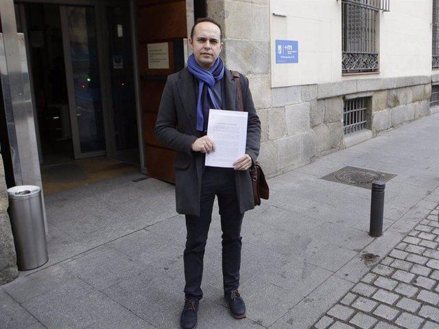 El concejal de Más Madrid José Manuel Calvo.