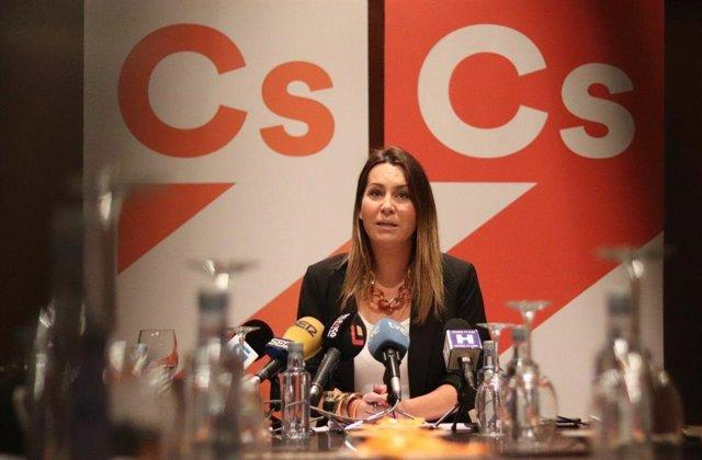 Beatriz Pino, portavoz de Ciudadanos Galicia