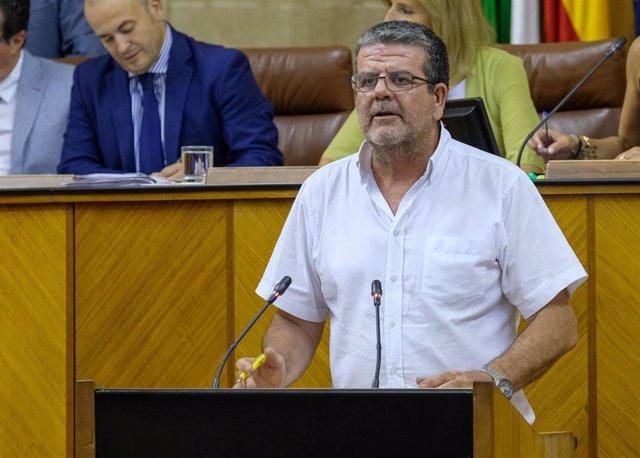 El parlamentario de Adelante Andalucía Nacho Molina, en una foto de archivo.