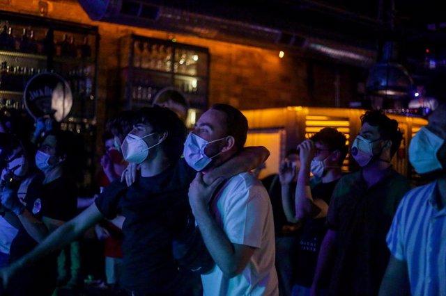 Concierto de Los Punsetes en fase 1 en Madrid