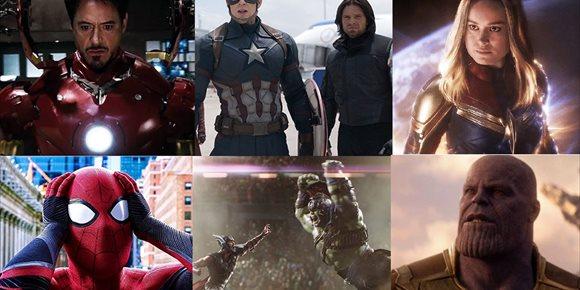 1. Las películas del Universo Marvel en orden cronológico y dónde verlas