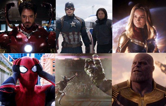 Todas las películas de Marvel en orden cronológico y donde verlas