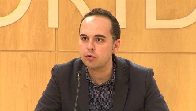 El concejal José Manuel Calvo