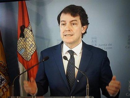 """Mañueco reclama el derecho de CyL a gestionar el Ingreso Mínimo y exige a Sánchez """"trato justo"""" para todas las CCAA"""