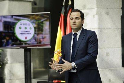 Aguado propondrá a la oposición dos mesas de trabajo de reconstrucción sobre empleo y políticas sociales