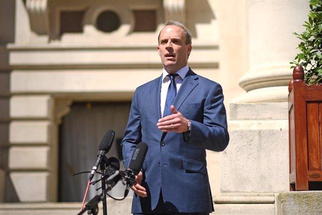 El ministre d'Exteriors britànic, Dominic Raab