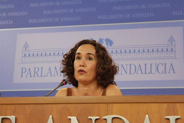 La diputada de Adelante Andalucía Ana Naranjo, en una foto de archivo.